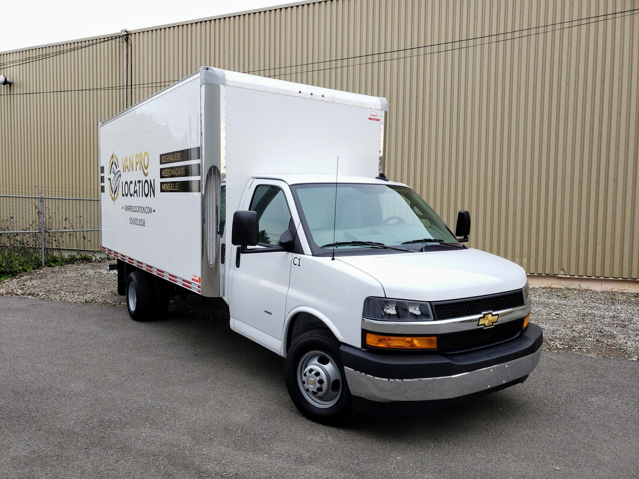 GMC Chevrolet Express cutaway 16 pieds V8
